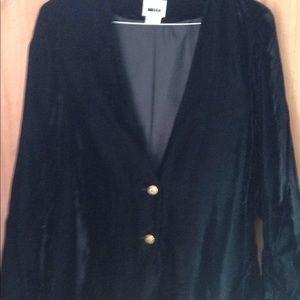 Velvet sport coat